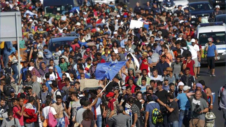 Flüchtlinge überschwemmen deutschland
