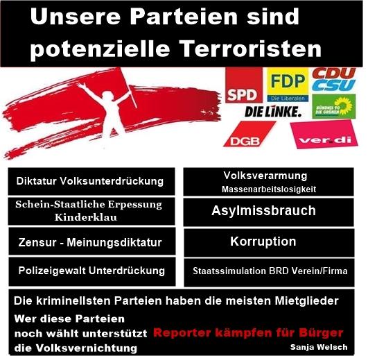 Deutschland wird von unseren Volksverrätern abgeschafft